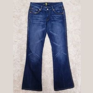 Seven 7 for All Mankind Bootcut Dark Wash Jeans